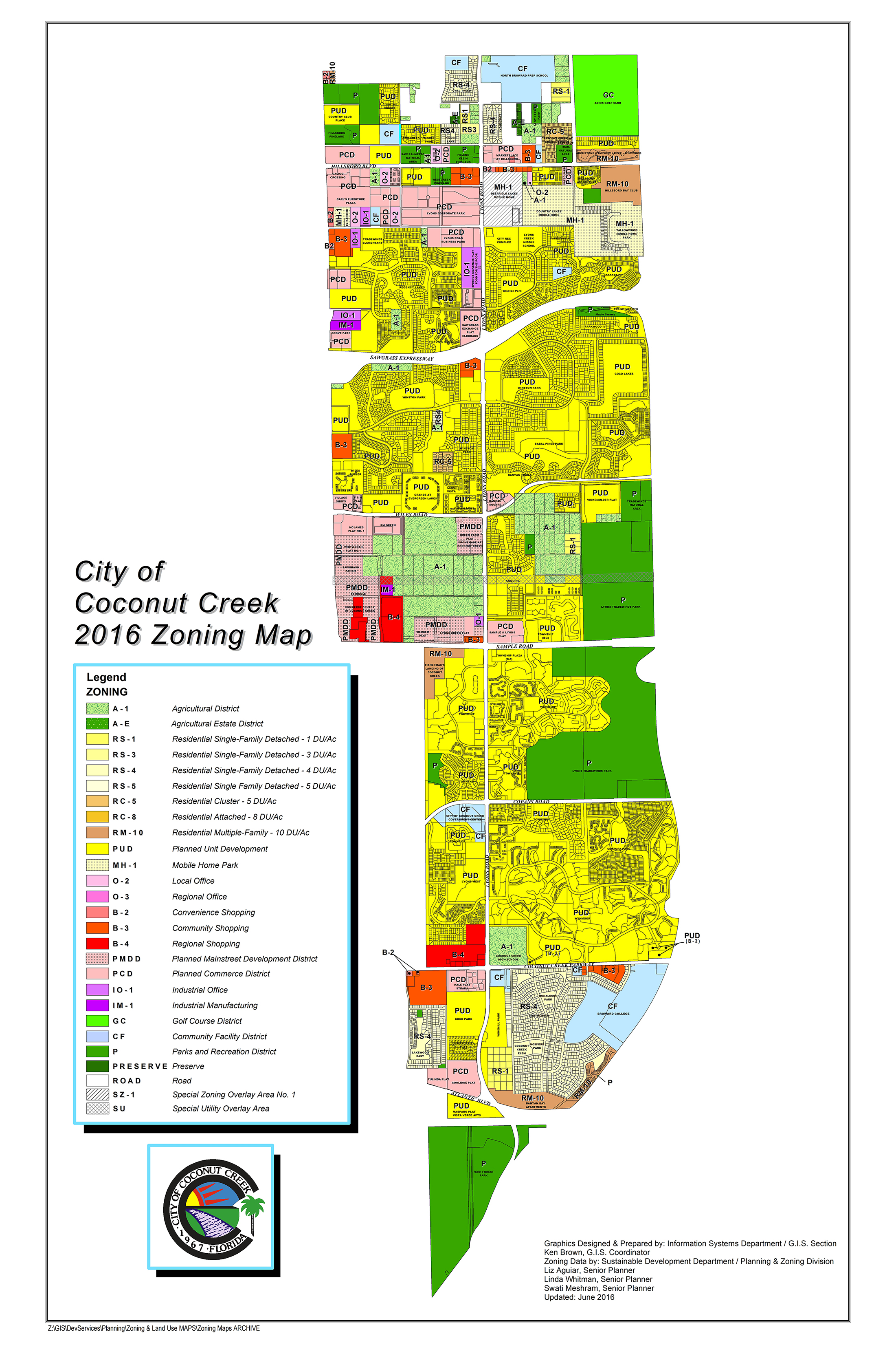 how to read a zoning map